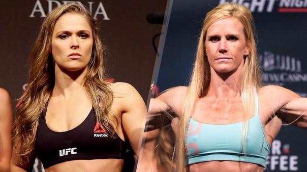 Ronda Rousey vs. Holly Holm en el UFC 200