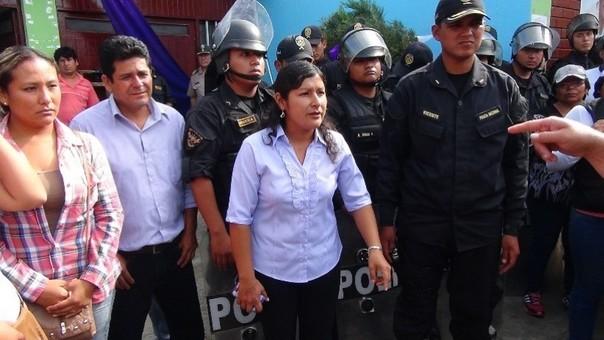 Alcaldesa de Samanco