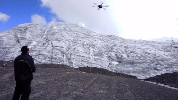 Un dron para captar la contaminación en las cimas de los Andes