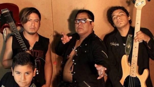 La agrupación peruana de rock 'Los Mojarras'.