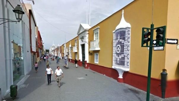 Paseo Peatonal Pizarro
