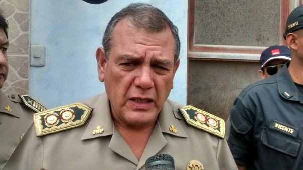 Jefe de la Región Policial Áncash, general Juan Gálvez Escalante