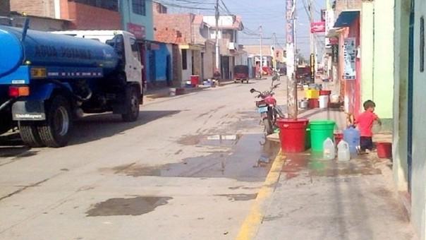 Distrito de Pueblo no cuenta con servicio de agua hace dos meses.