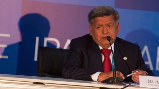 Candidato presidencial por APP, César Acuña Peralta