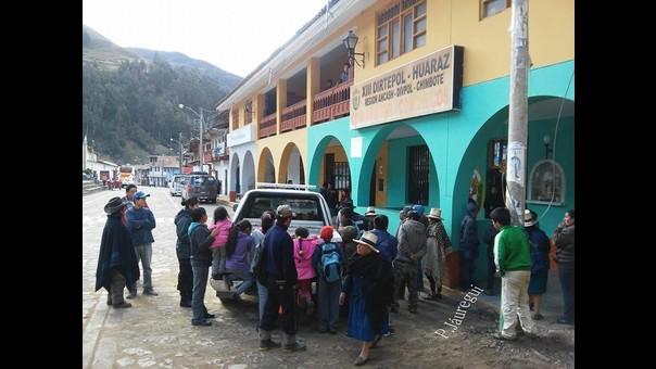 Sede policial de Huaraz