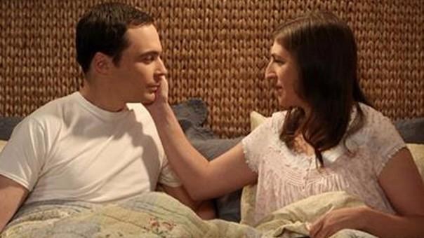 Sheldon y Amy.