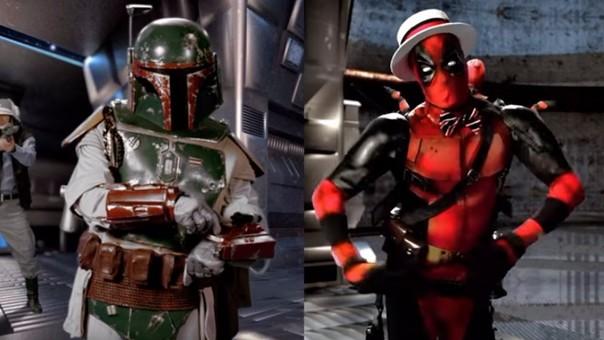Boba Fett y Deadpool se dijeron de todo en la batalla de rap.