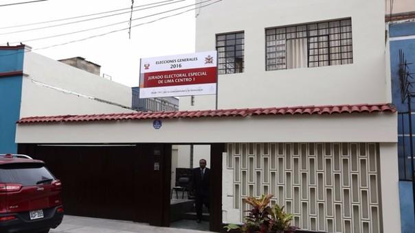 Jurado Electoral Especial de Lima Centro I