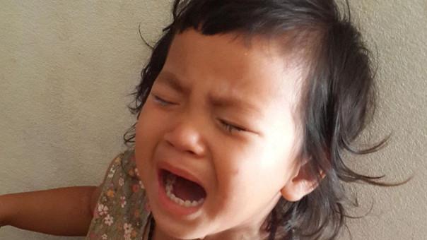 Beb llorando