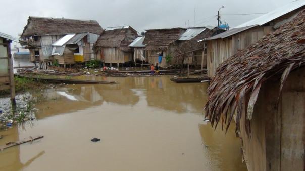 Desborde de rio