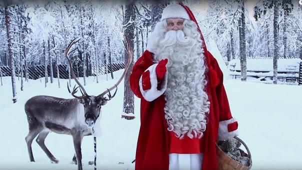 Papá Noel sí que tiene una dura labor esta noche por la Navidad