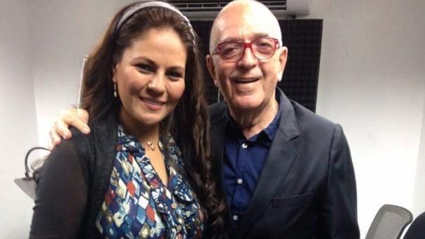 Dina Paucar y Chema Salcedo recuerdan la Navidad.