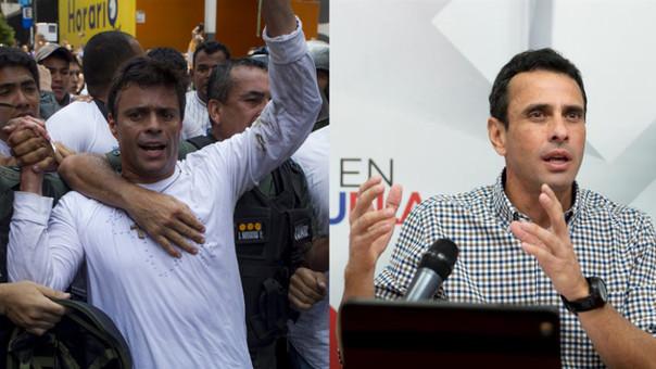 Leopoldo López - Henrique Capriles