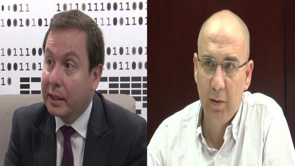 Los economistas Juan Mendoza y Pablo Secada