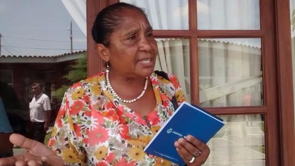 Esperanza Ascorbe cuestionó al gobernador lambayecano