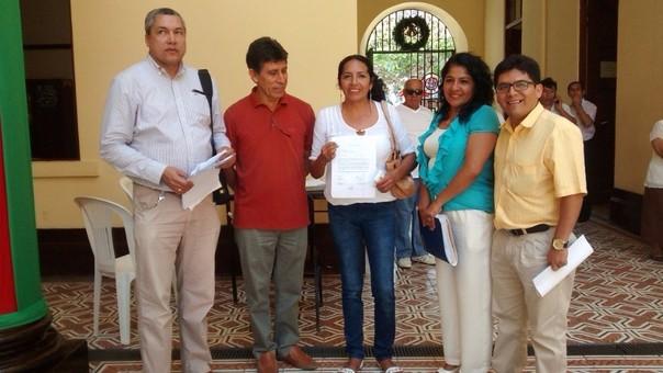 Concejales en desacuerdo con alcalde de Chiclayo