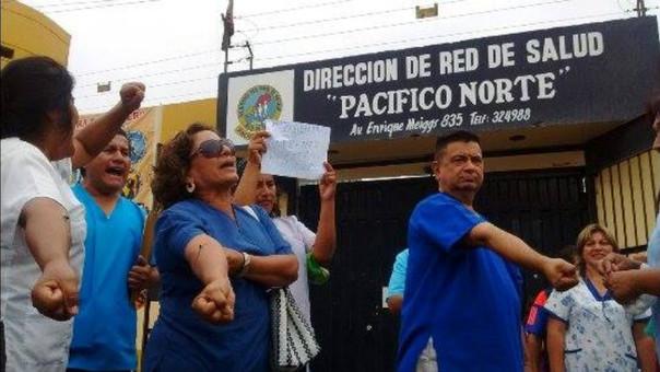Trabajadores exigen pago de sus sueldos
