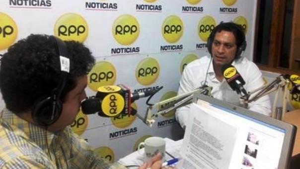 Luis Valdez en RPP
