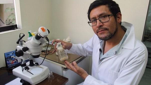 Científico peruano Julio Valdivia Silva