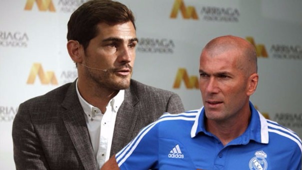 Zidane y Casillas