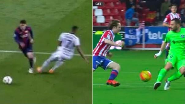 Alen Halilovic repitió la jugada de Lionel Messi