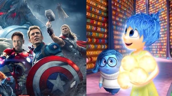 'Avengers: era de Ultrón' e 'Intensa-Mente' son algunas de las nominadas a 'Película favorita'.