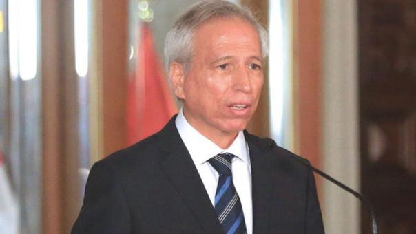 Ministro de Justicia, Aldo Vásquez