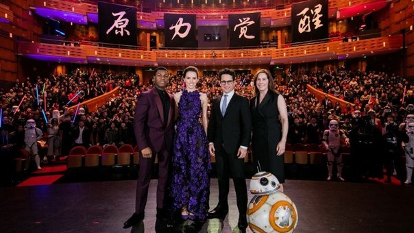 Star Wars llegó a China