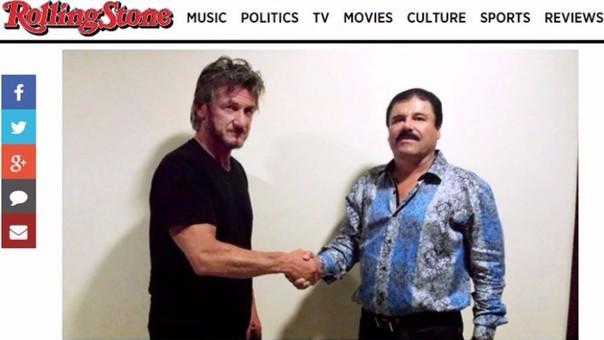 Sean Penn y el Chapo Guzmán