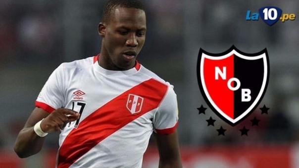 Advíncula jugará en Newell's Old Boys de Argentina