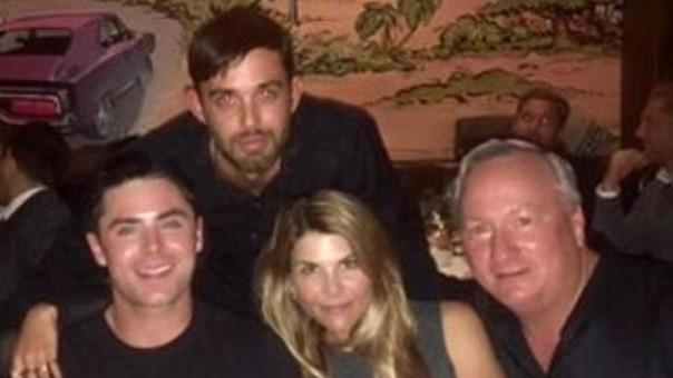 Zac Efron y sus amigos