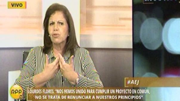 Lourdes Flores en RPP