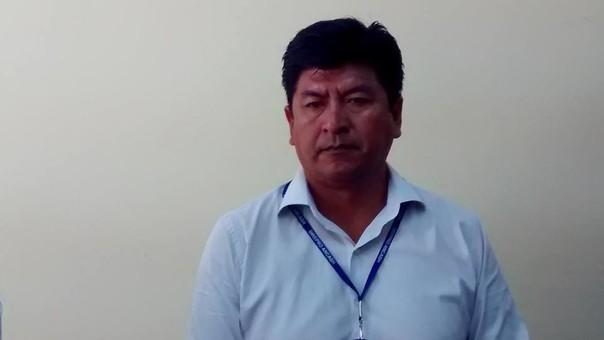 Director regional de Producción, Estanislao Apaza Castillo.