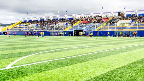 Estadio de Cutervo quedó listo para el torneo profesional 2016