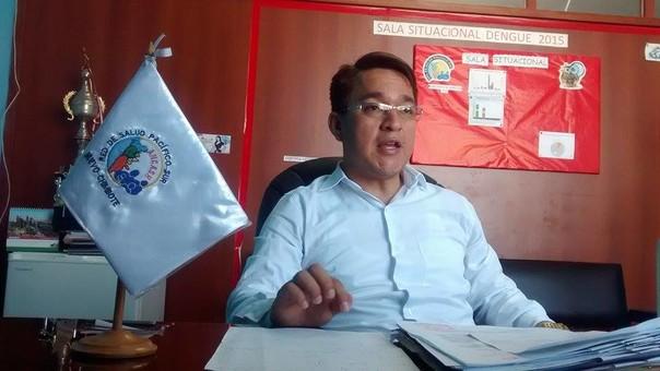 Director de la Red de Salud Pacífico Sur, Yonal Escalante