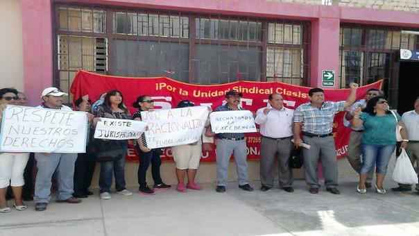 Protesta docente