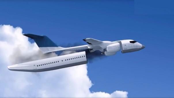 Inventa avión que evitaría muertes por accidentes