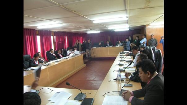 Sesión de Consejo Regional