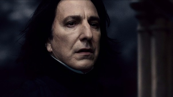 Alan Rickman pudo interpretar a Severus Snape gracias a un secreto que le confió J.K. Rowling.