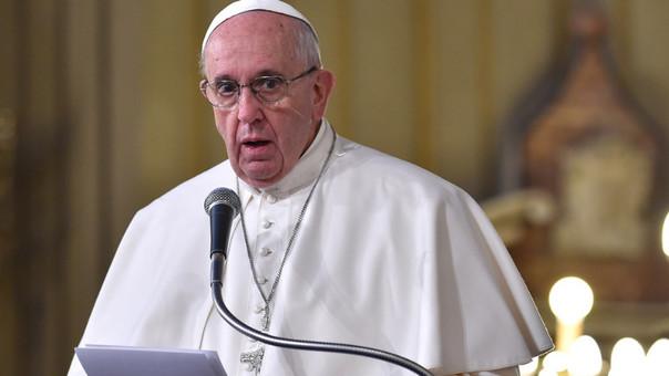 El papa Francisco envía un mensaje al Foro Económico Mundial en Davos.