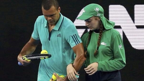 Jo-Wilfried Tsonga en el Abierto de Australia