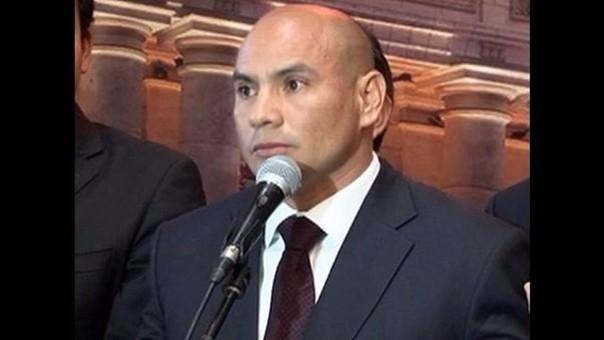 Congresista Joaquín Ramírez