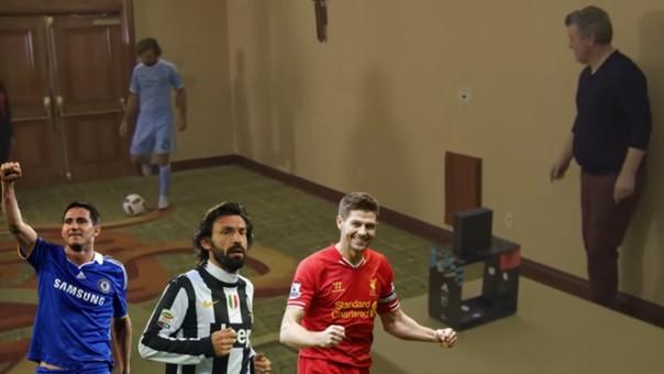 Pirlo, Lampard, Gerrard