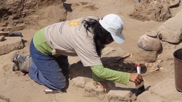 Excavación en Santa Rosa Pucalá
