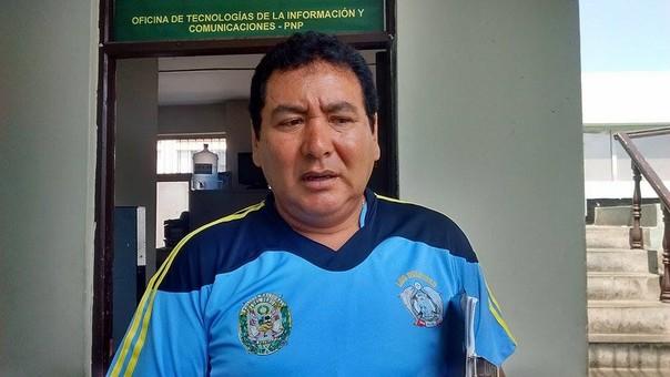 Jefe de la Unidad de Salvataje de la División Policial Chimbote