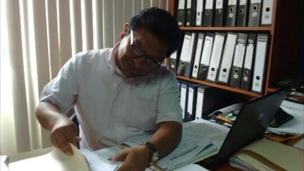 Carlos Fernández, abogado de la familia Ariza.