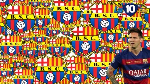 Desafío invita a reconocer el escudo del Barcelona