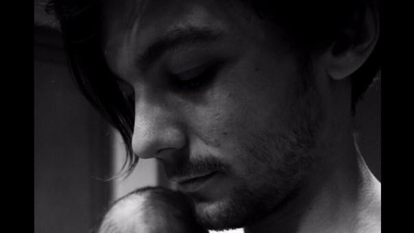 Louis Tomlinson y su primer hijo.