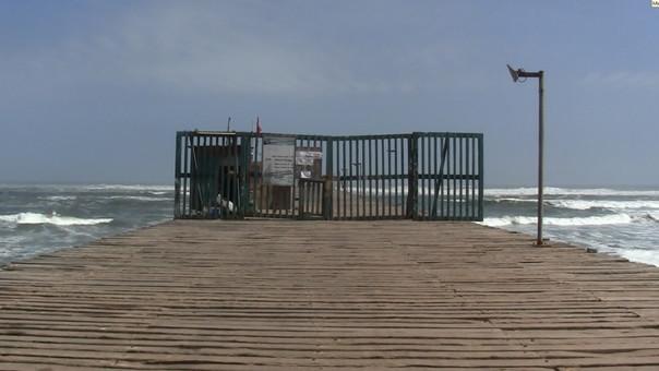 Puertos fueron cerrados