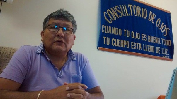 Oftalmólogo del hospital regional Eleazar Guzmán Barrón